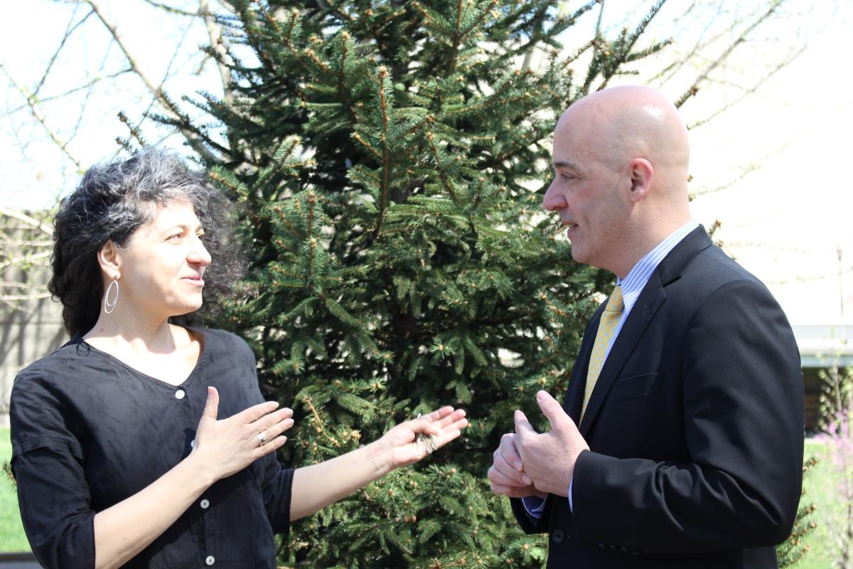 William Latimer and Mira Goral